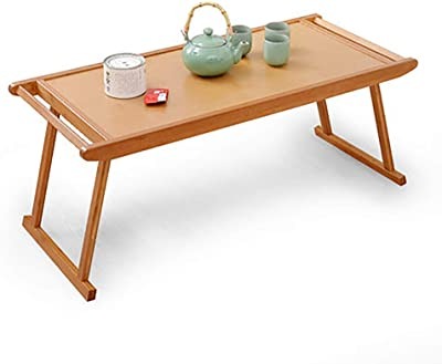 Folding Table - Table Simple Kung Fu Tea Table Coffee Table Folding Antique Low Table Folding Coffee Table Home Office Dormitory Table (Size : 96x43x39cm)