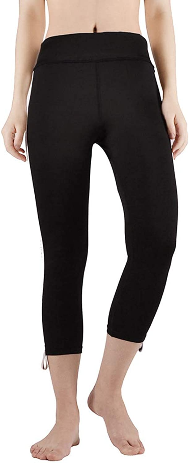 KEVIN POOLE Yoga Pants Sports HighRise Cropped Pants Hips Fitness Womens Workout Pants (Size   XL)