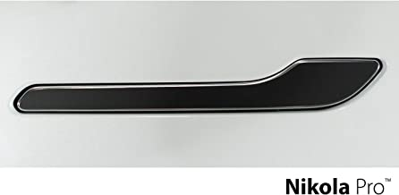 Nikola Pro Tesla Model 3 Door Handle Wrap Kit (Matte Black)