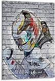 Kribee F1 Poster Lewis Hamilton auf Leinwand, Kunst-Poster