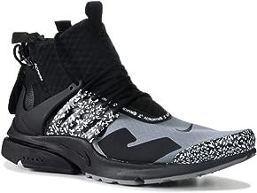 Nike Mens Air Presto Mid/Acronym Cool Grey Cool Grey/Black Synthetic Size 10
