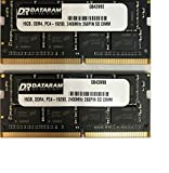 DATARAM 32GB RAM Upgrade (2x 16GB) DDR4 2400Mhz PC4-19200 CL17 SO DIMM kompatibel mit dem Apple 2017 iMac 27' Retina 5K Display