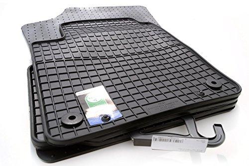 kh Teile Gummimatten passend für UP Gummi Fußmatten schwarz 4-teilig Befestigung