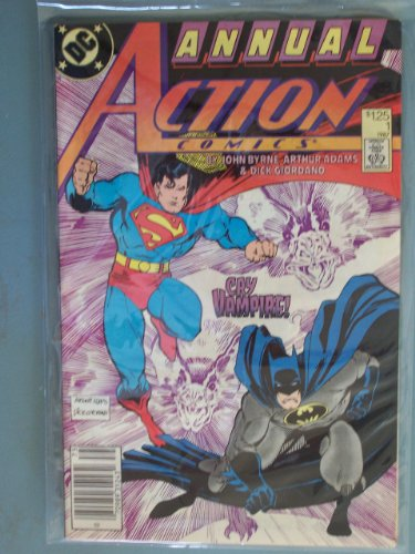 Action Comics Annual #1 guest starring Superman and Batman!