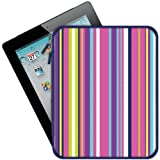 Macbeth Collection Portfolio Sleeve for All iPads - Hip Hip Stripes (MB-IP3HP)