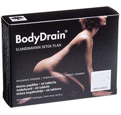 New Nordic BodyDrain N60 Food Supplement for Weight Control Scandinavian Detox Plan