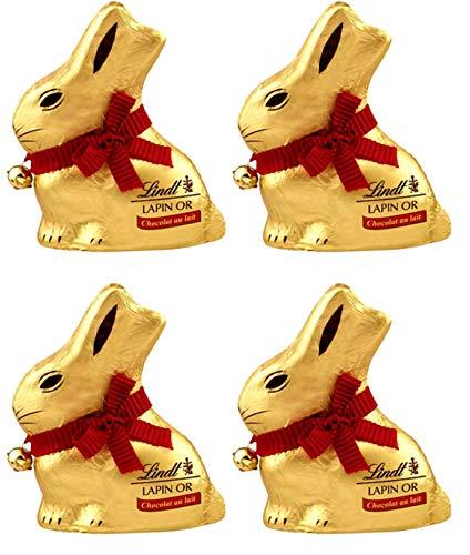 Lindt&Sprungli Altre Forme di Cioccolato Latte - 4 confezioni da 100 g