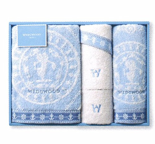 ウェッジウッド バスタオル フェイスタオル2枚 ウォッシュタオル ギフト 4枚セット WW8601