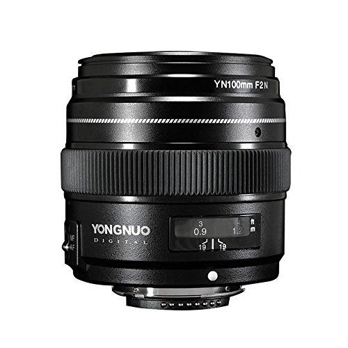YONGNUO YN100mm F2N 単焦点レンズ ニコン Fマウント フルサイズ対応 中望遠 標準レンズ