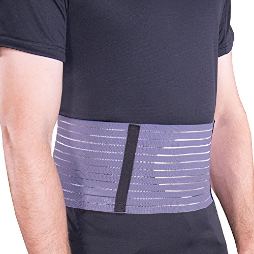 Helps support weakened abdominal muscles. For umbilical hernia, weak, pendulous abdomen, contusions and tenderness. Ribbed webbed elastic molds around body contours for a comfortable, custom fit. Foam pad adds rigidity, padding, and provides direct c...