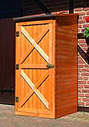 Gartenschrank aus Holz