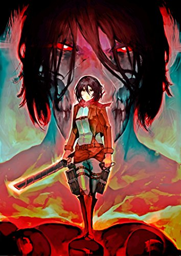 Anime Wandkalender 2021 [20x30cm, 12 moths] Attack on Titan Manga 04 [Home] Koshizu