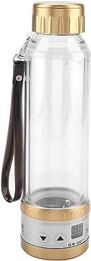 Car Electric Kettle, 12V / 24V 75W 280ml Car Electric Kettle Travel Tea Mug Water Heating Cup Bottle Holder(Gold)