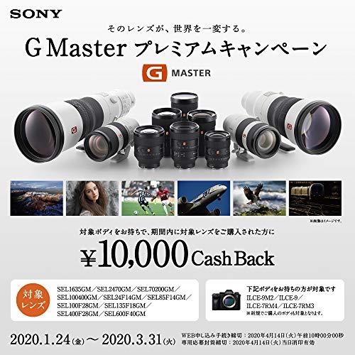 ソニーデジタル一眼カメラα[Eマウント]用レンズSEL135F18GM(FE135mmF1.8)フルサイズGmaster