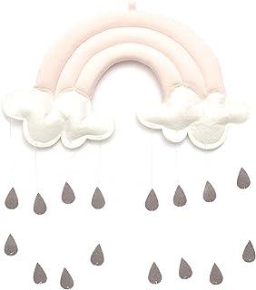 Soapow Nuage Raindrops Suspendus Décoration Arc-En-Mur Décor pour Chambre Tente Accessoires Accessoires Photo