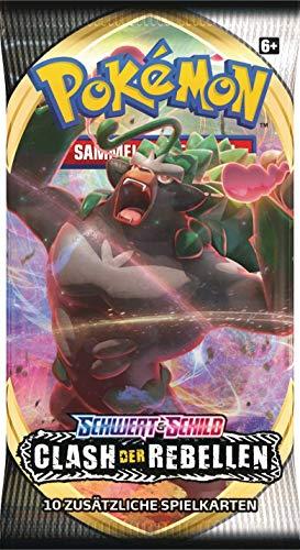 Pokemon SWSH2 Schwert & Schild Clash der Rebellen Boosterpack (1 Stück)