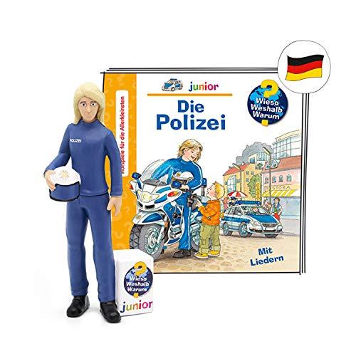 tonies Hörfiguren für Toniebox Figur mit Wieso Weshalb Warum - WWW Junior Polizei - ca. Min - ab 6 Jahre - DEUTSCH