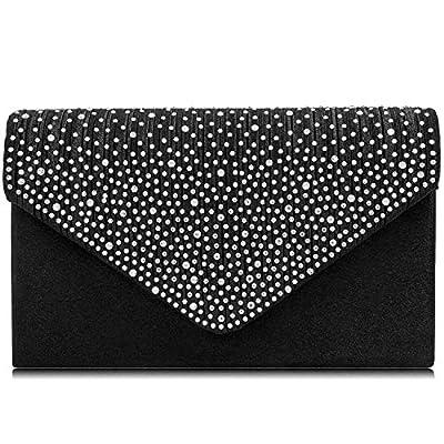 Yekajlin Women Clutches Glitter Clutch Purse Elegant Evening Bags Shoulder bag