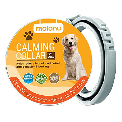 RYDOR Calming Collar for Dogs - Stay Calm and Comfortable for All Small...