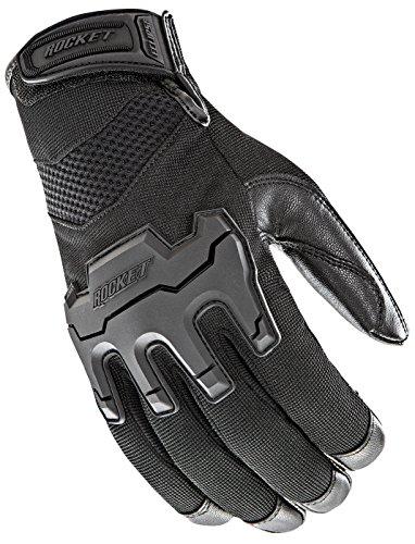 Joe Rocket 1722-2004 Men's Eclipse Gloves (Black, Large)