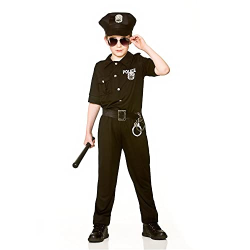 Boys Police Kids Uniform Children Cosplay Policemen Costumes Special Army Military Uniform Kindergarten Performance Clothing Set Home