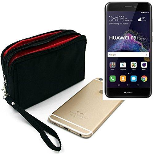 PRATICO & FUNZIONALE: Quando si viaggia, escursioni a piedi e in grandi folle si dovrebbe avere nascosto gli oggetti di valore in modo sicuro e vicino al corpo. La nostra custodia universale per gli smartphone garantisce questo. Oltre al Huawei P8 Li...