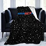 IkedaEriko Flannel Fleece Blanket Ninja Sex Party Big Air-Conditioning Throw Blanket for Bed Couch Chair Bedroom 60'x50'