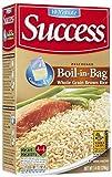 Success Boil in Bag Whole Grain Brown Rice,...