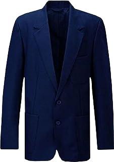 "Uniform Blazer Navy Blue Mens 50"""