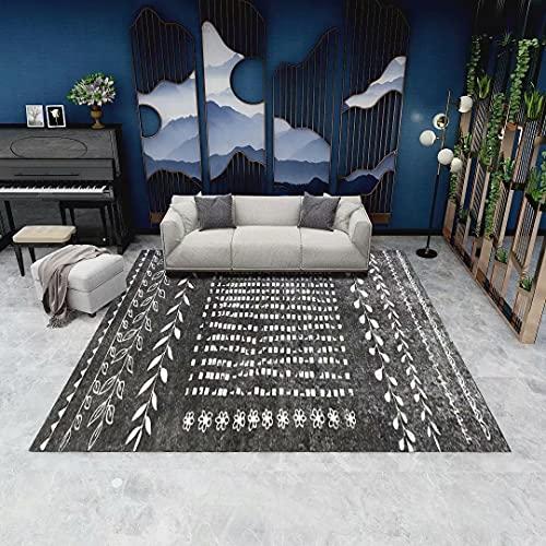 Living Room Modern Carpets (140*200CM)Kids Room Rug Modern Short Pile Room Large Size Bedrooms(Carpet C62)
