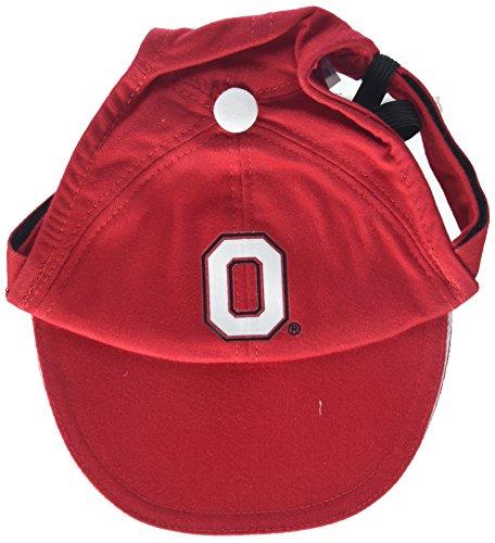 Sporty K9 Collegiate Ohio State Buckeyes Dog Cap, Large - New Design