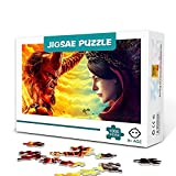 zhangkk 1000 Jigsaw Puzzle Game Hellboy Anime Jigsaw Parent-Child Educational The Game Decoración del hogar Jigsaw 75x50cm Rompecabezas de Madera