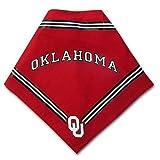 Collegiate Oklahoma Sooners Pet Bandana, Medium/Large - Dog Bandana must-have for Birthdays, Parties, Sports...