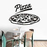 Pizza Logo Aufkleber Restaurant Pizza Shop Fensteraufkleber