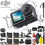 """DJI Osmo Action 4K Camera - Monopod 70"""" - USB Card Reader - Additional Batteries (4 Total) - 16GB MicroSD & More"""