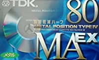 TDK メタルテープ MAEX 80分 振動低減ハーフ MAEX-80