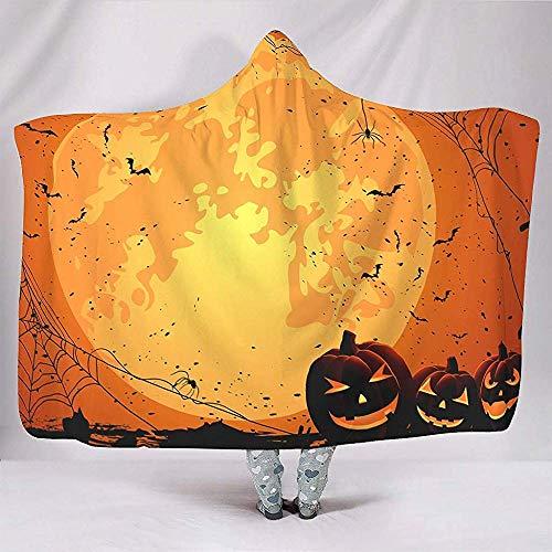 Zseeda Vacaciones Halloween Naranja Luna Llena Calabaza