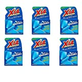 X 14 268011 Toilet Bowl Deodorizer and Cleaner, Blue Plus Fragrance (6 Pack)