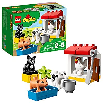 LEGO DUPLO Town Farm Animals 10870 Building Blocks (16 Pieces)