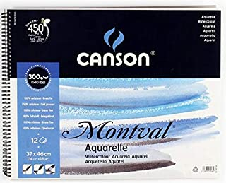 Canson Drawing book, 12 papers, 300 g