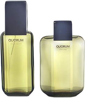 Antonio Puig Antonio Puig Quorum 2 Pc. Gift Set (1 x EDT Spray 3.4 oz + 1 x Quorum Aftershave 3.4 oz), 101 ml