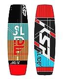 KSP TAVOLA Slide Red Freeride Completa da Kitesurf 135/140/145 Kite Board Surf (135x41)