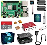 Raspberry Pi 4 4GB RAM con Tarjeta SD de 32GB Precargada con Raspberry Pi OS,...