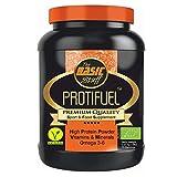 Proteína vegetal sin alérgenos, hidrolizadas, ecológicas con vitaminas y minerales (907G.) 30 porciones (Vainilla)