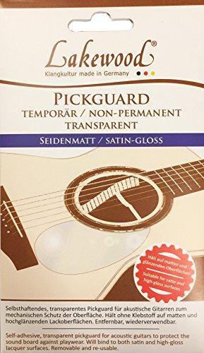 Lakewood Pickguard - Transparent Satin