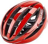 ABUS Racing Red L Casco, Adultos Unisex, Rojo (Rojo)