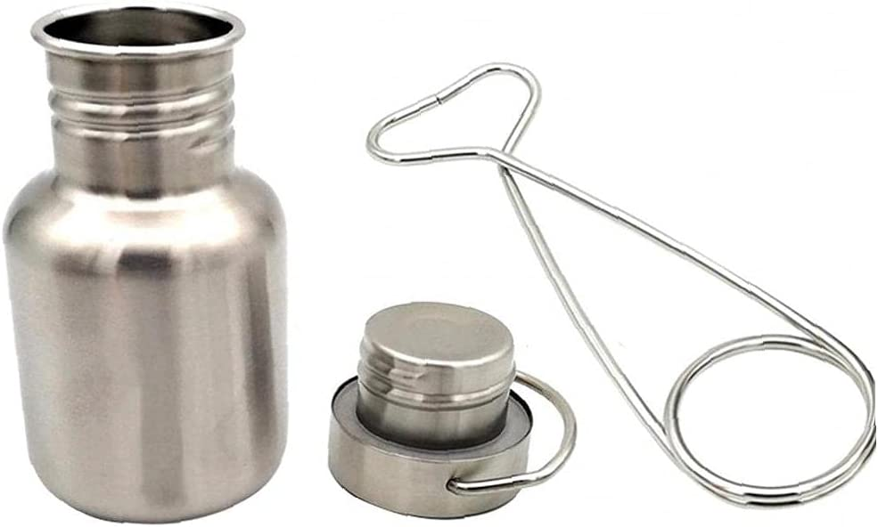 Liadance Camping Water Minneapolis Mall Cup Set Stainless Ha Portable Branded goods Steel 350ml