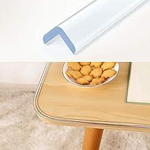 Wemk Transparent Table Edge Protectors, Corner Protectors Bumper Strip 1 Rolls 20ft(6.1m)..