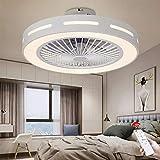 Ventilator Deckenleuchte LED Deckenventilator Mit Beleuchtung Dimmbar Mit Fernbedienung Lüfter...