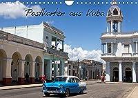 Postkarten aus Kuba (Wandkalender 2022 DIN A4 quer): Erleben Sie die Faszination von Kuba mit diesen Postkarten-Motiven (Monatskalender, 14 Seiten )
